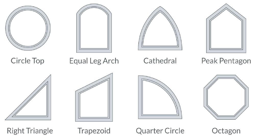 Casement Shapes