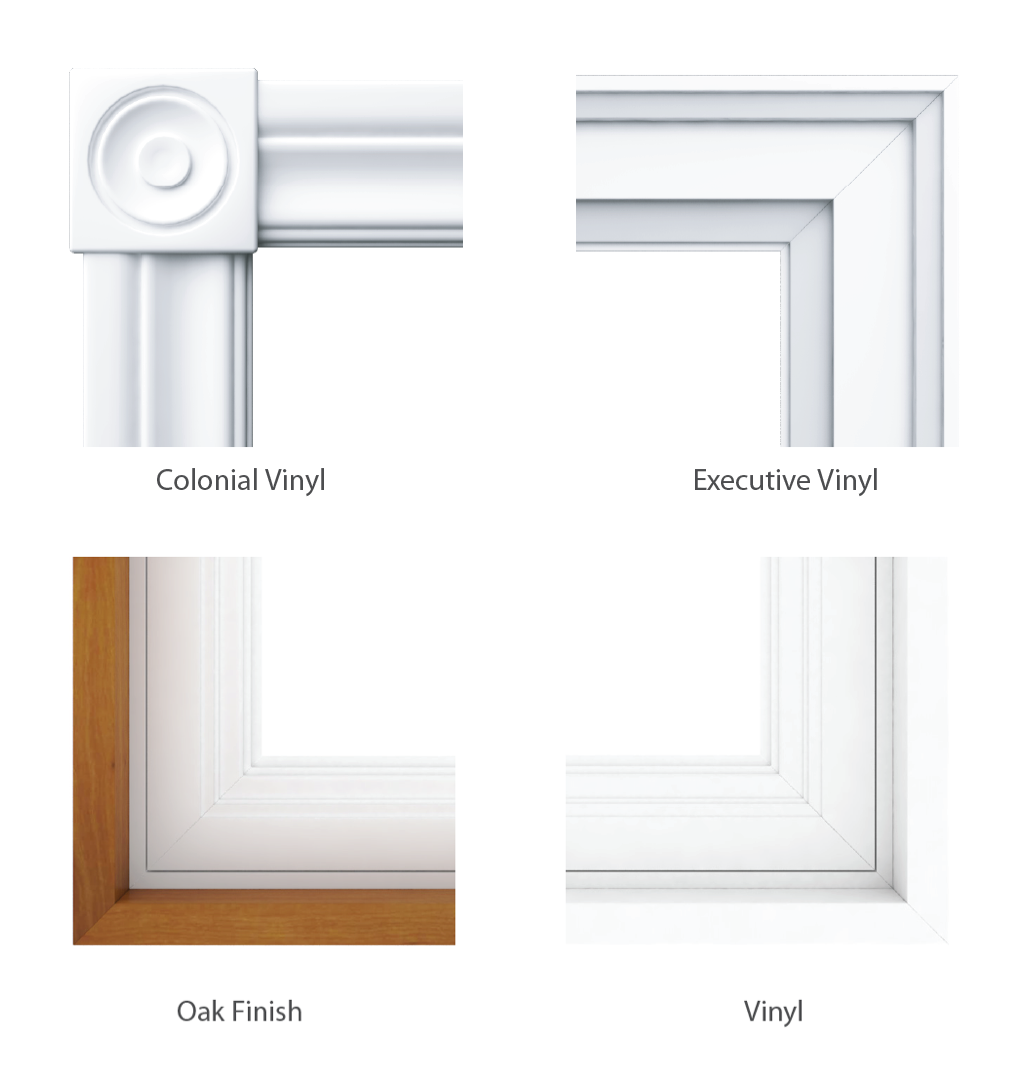 Single Slider Tilt Windows Jamb and Casing Options